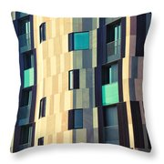 Modern Facade Throw Pillow