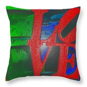 Modern Love Throw Pillow