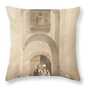 Modern Mansion, Showing The Arabesque Throw Pillow