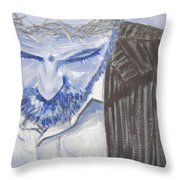 Modern Passion Throw Pillow by Robie Benve