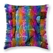 Mogollon Blanket Of Legends Throw Pillow