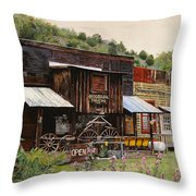 Mogollon-theatre-new Mexico  Throw Pillow