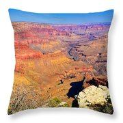 Mohave Pt. Grand Canyon Throw Pillow