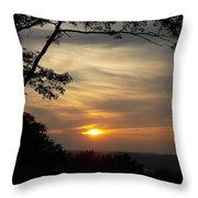Mohawk Sunset Throw Pillow