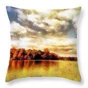 Mohegan Lake 2 Throw Pillow