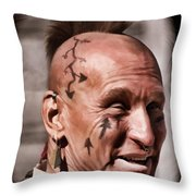 Mohican Throw Pillow