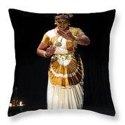 Mohiniyattam Throw Pillow
