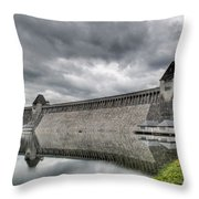 Mohne Dam Wide View Throw Pillow
