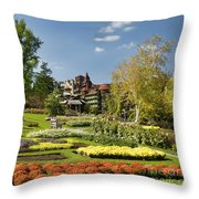 Mohonk Gardens Throw Pillow