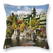 Mohonk Lake Throw Pillow