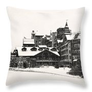 Mohonk Mountain House Throw Pillow
