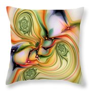 Moirai Throw Pillow