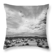 Mojave National Preserve Throw Pillow