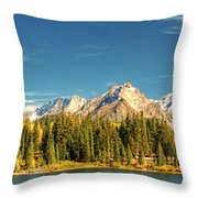 Molas Lake And The Needle Range Pan 2 Throw Pillow