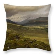 Molly's Gap Co Kerry Ireland Throw Pillow