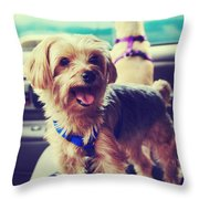 Molly's Road Trip Throw Pillow