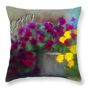 Mom Day 2014 Throw Pillow