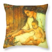 Mom I Love You  Throw Pillow