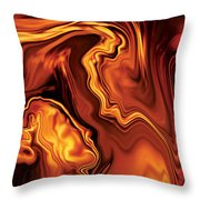 Moment Before The Kiss-2 Throw Pillow