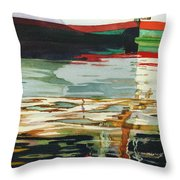 Moment Of Reflection Xiii Throw Pillow