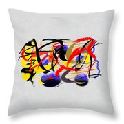 Moment Captured In Time Throw Pillow