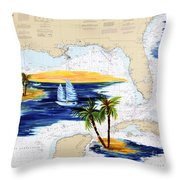 Moments Aweay Throw Pillow