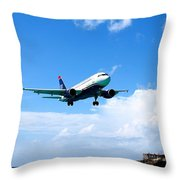 Moments From Touchdown Throw Pillow
