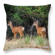 Mommy Where Are You Throw Pillow