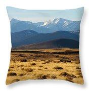 Mom's Mountain 2 Throw Pillow
