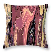 Mom's Venetian Glass Vase 16 Throw Pillow