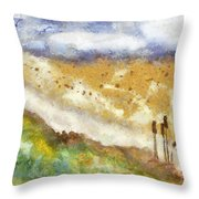 Momzie's Nature -t0202f Throw Pillow