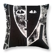 Mona Lisa 1990 Throw Pillow