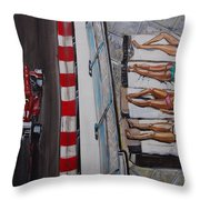 Monaco Glamour Throw Pillow