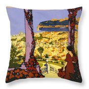 Monaco - Monte Carlo Throw Pillow