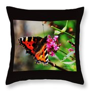 A Monarch In Ireland # 2 Throw Pillow