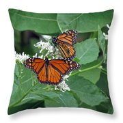 Monarch Butterfly 68 Throw Pillow