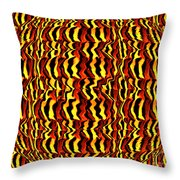 Monarch In The Round Throw Pillow