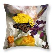 Monarch Vertical...   # Throw Pillow