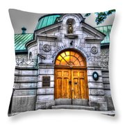 Monastere Des Augustines Throw Pillow