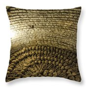 Monastery Of San Francisco - Lima Peru Throw Pillow