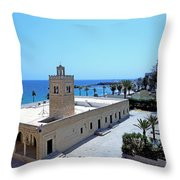 Great Mosque Monastir Throw Pillow