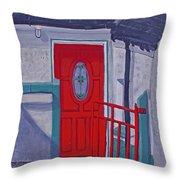 Monedarragh Back Door And Gate Throw Pillow