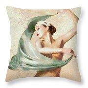 Monet Movement Throw Pillow