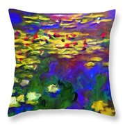 Monet Would Be Horrified Throw Pillow