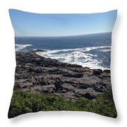 Monhegan Island Throw Pillow