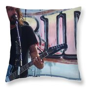 Monkey Wrench Throw Pillow