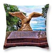 Monmouth County 9/11 Memorial Throw Pillow