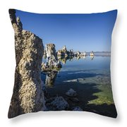 Mono Lake Tufas 3 Throw Pillow