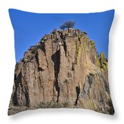 Monolith At Indian Lodge Throw Pillow