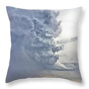 Monster Cloud Country Throw Pillow